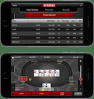 installer Winamax Poker gratuit sur Iphone, Ipad, Ipod Touch